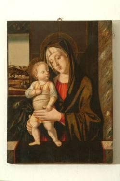 Jacopo da Valenza, Madonna con Bambino, sec. XV, olio su tavola